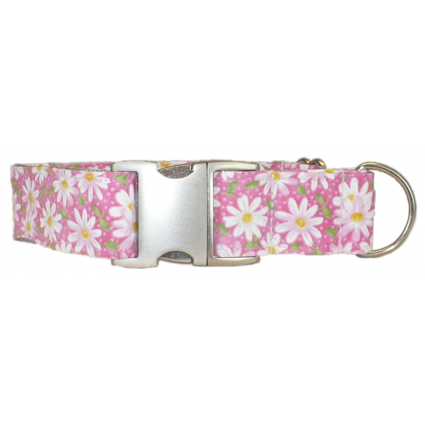 Dog Collars With Daisies On Them
