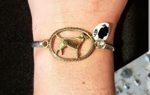 $68 A Silver Lining Lab Rescue Bracelet - Raffle Tickets