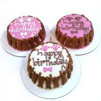 Custom Dog Birthday Cake - Classic - Girl