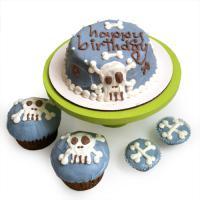 Custom Dog Birthday Cake - Punk Rock Series