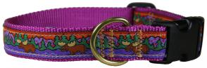 Moose I - 1-inch Ribbon Dog Collar