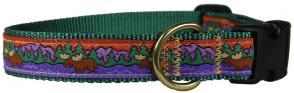 Moose II - 1-inch Ribbon Dog Collar