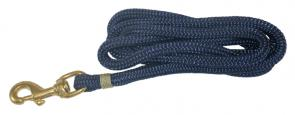 Nautical Rope Leash - Navy Blue