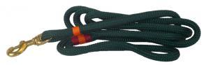 Nautical Rope Dog Leash - Dark Green