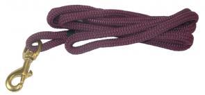 Nautical Rope Leash - Maroon