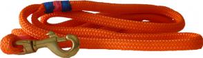 Nautical Rope Dog Leash - Orange
