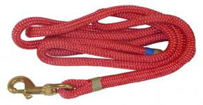 Nautical Rope Leash - Red