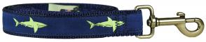 Shark - 1-inch Ribbon Dog Leash