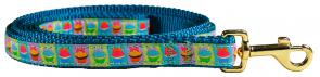 Cupcakes - 5/8-inch Ribbon Dog Leash