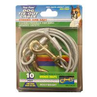 Dog Tie-Out Cable - Heavyweight - 3 Lengths