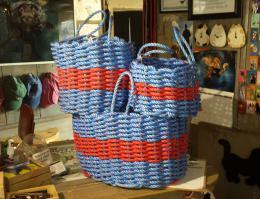 Dog Toy Storage Rope Baskets