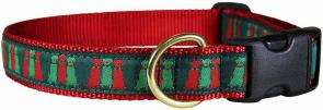 Three Wise Labs - 1-inch Ribbon Dog Collar