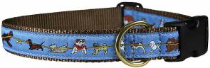 Tug of Dog - 1-inch Ribbon Dog Collar