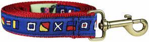 Nautical Flags - Ribbon Dog Leash