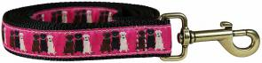 Three Labs - Ribbon Dog Leash