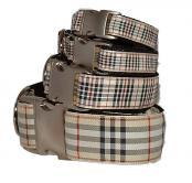 Windsor Plaid Dog Collar