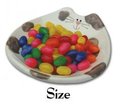 Large Ceramic Cat Feeding Dishes