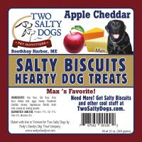Salty Biscuits - Maxs Apple Cheddar