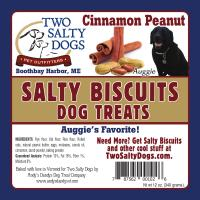 Salty Biscuits - Auggies Peanut and Cinnamon