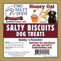 Salty Biscuits - Big Buddys Honey and Oat
