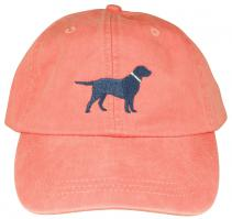 Baseball Hat - Blue Lab on Coral