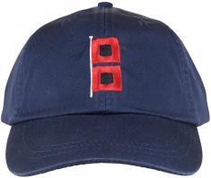 Baseball Hat - Hurricane Flags on Navy Blue