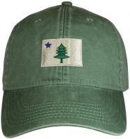 Baseball Hat - Maine Flag on Spruce