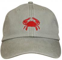 Baseball Hat - Red Crab on Stone