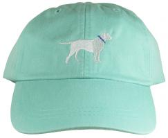 Baseball Hat - White Lab on Sea Foam