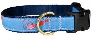 Squid - 1-inch Ribbon Dog Collar
