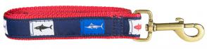 Fish Flags - Ribbon Dog Leash