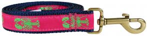 Lobster (Lime & Raspberry) - Ribbon Dog Leash