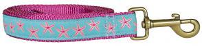 Starfish (Aqua & Pink) – Ribbon Dog Leash