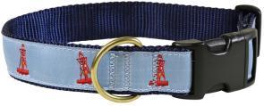 Bell Bouy - 1.25-inch Ribbon Dog Collar