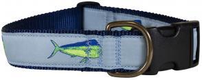 Dolphinfish - 1.25-inch Ribbon Dog Collar