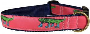 Iguana on Roller Skates - 1.25-inch Ribbon Dog Collar