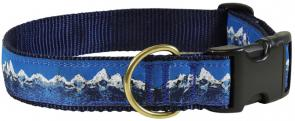 Mountain Range - 1.25-inch Ribbon Dog Collar