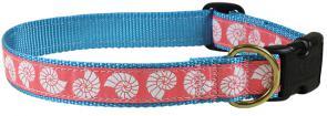 Seashells - Ribbon Dog Collar