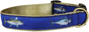Tuna - 1.25-inch Ribbon Dog Collar