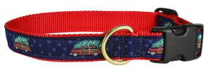 Woodie and Tree - Ribbon Dog Collar