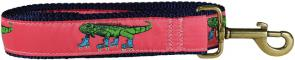Iguana on Roller Skates - Ribbon Dog Leash