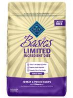 Blue Buffalo Adult Dry Dog Food - Basics - Turkey