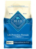 Blue Buffalo Adult Dry Dog Food - Chicken and Brown Rice