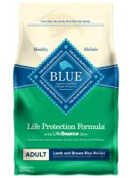 Blue Buffalo Adult Dry Dog Food - Lamb and Brown Rice
