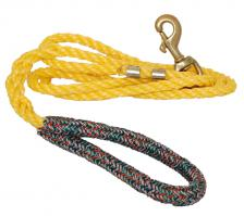 Lobster Line Dog Leash - Yellow