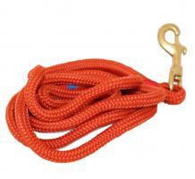 Nautical Rope Dog Leash - Pumpkin