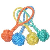 Rope Dog Pull Toy - Monkeyfist with Loop