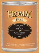 Fromms Canned Dog Food - Chicken and Rice Pate - 12.2oz