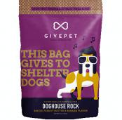 GivePet Crunchy Dog Treats - Dog House Rock 12oz
