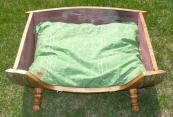 Wine Barrel Dog Bed - Large